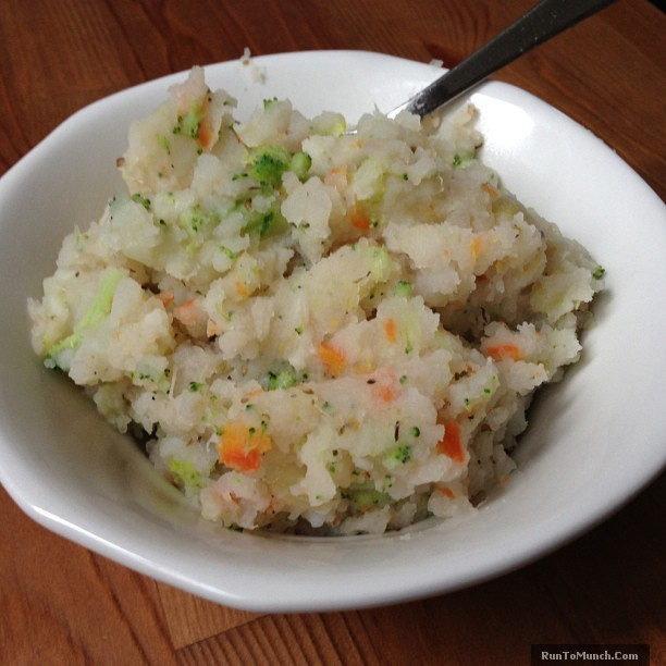 Healthy Mashed Vegetable Potatoes