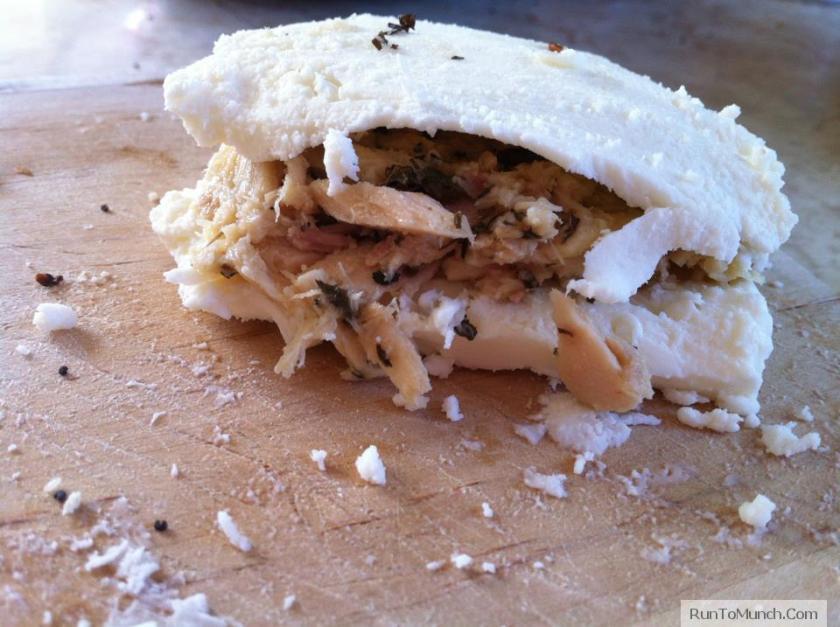 mozeralla sandwich