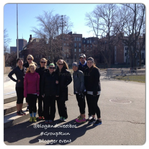 Tweet & Blog Boston Group Run