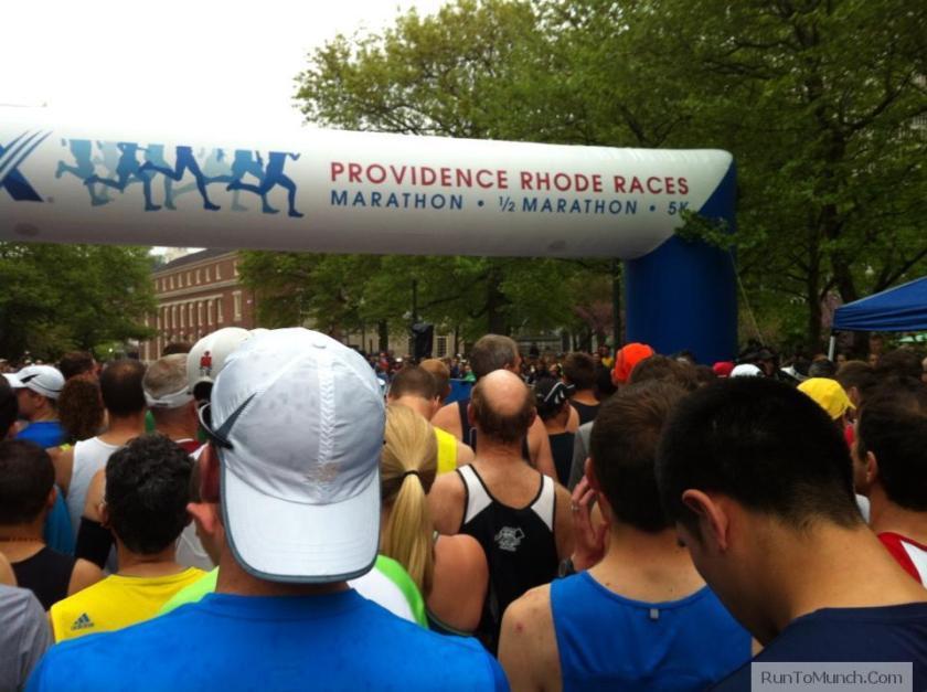 Cox Marathon Start Line