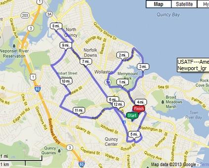 Half of Quincy Map