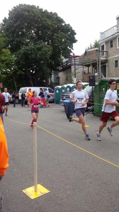 Liana Somerville 5K Finish