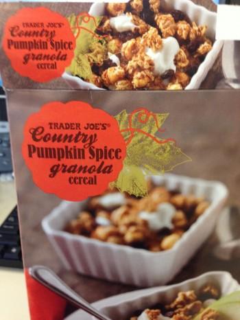 Pumpkin Spice Ganola