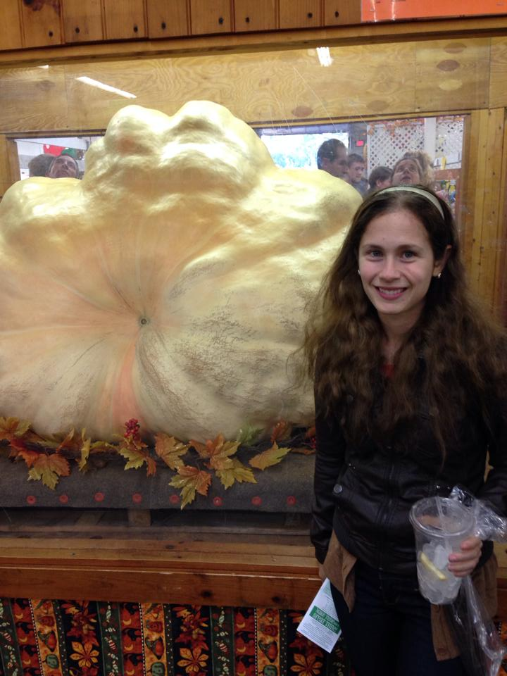 Topsfield Fair pumpkin winner