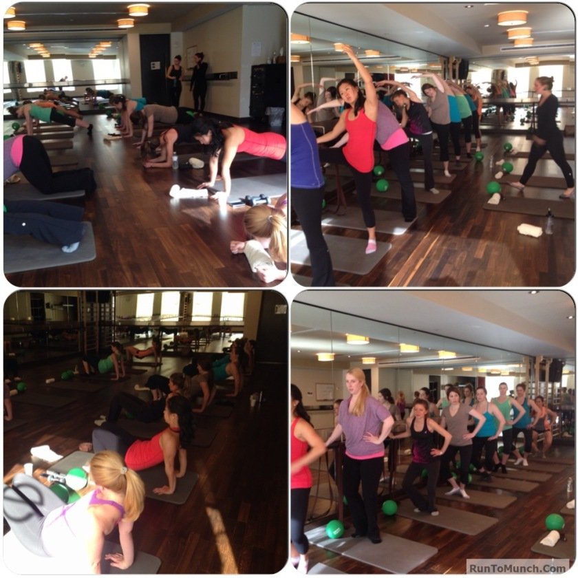 Exhale Spa Barre to Bar