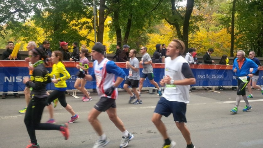 NYC Marathon Final Mile