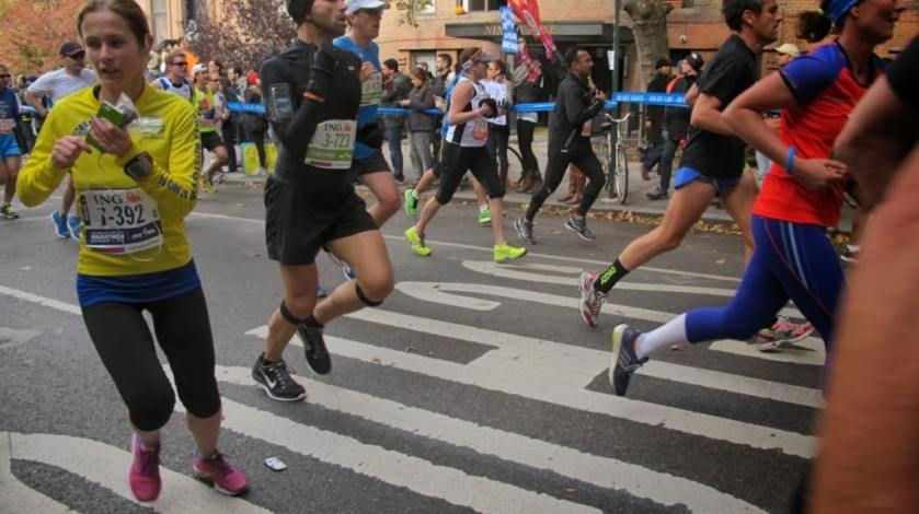 NYC Marathon Liana