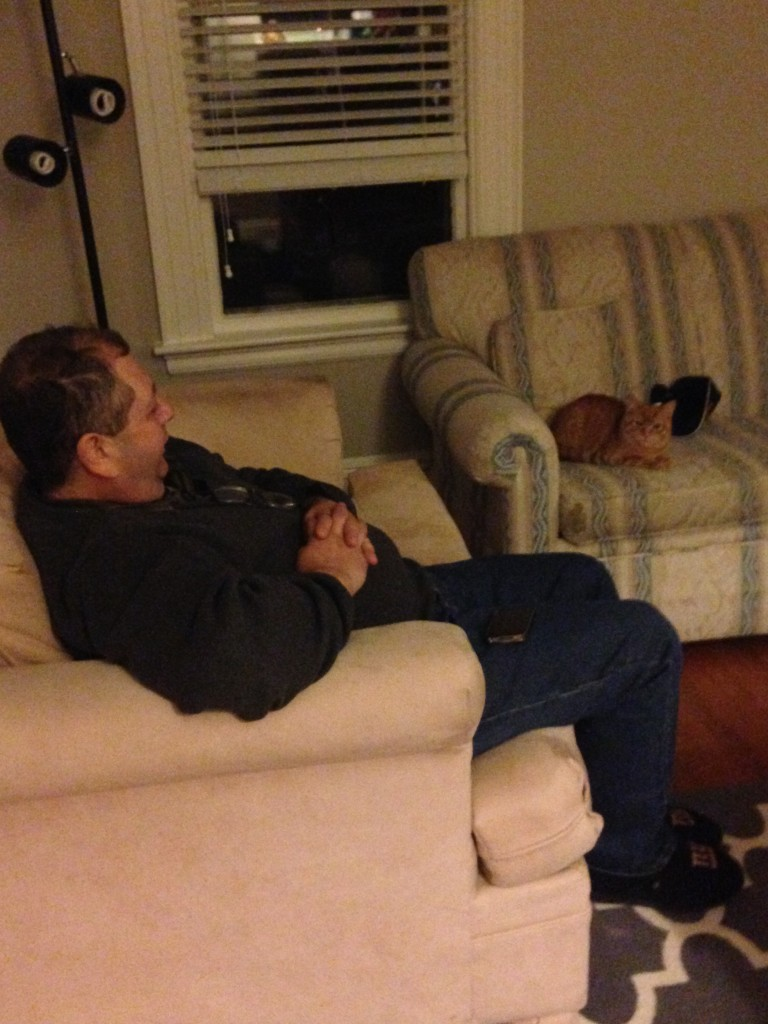 Dad and Oliver