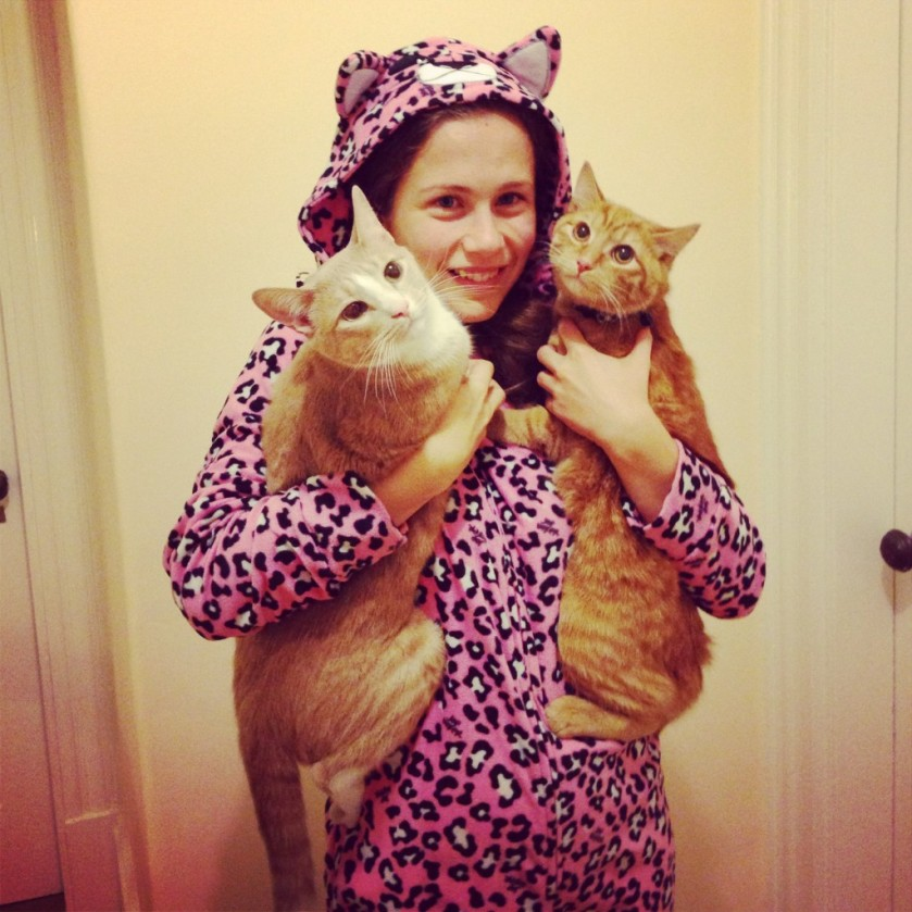 Pjs and cats