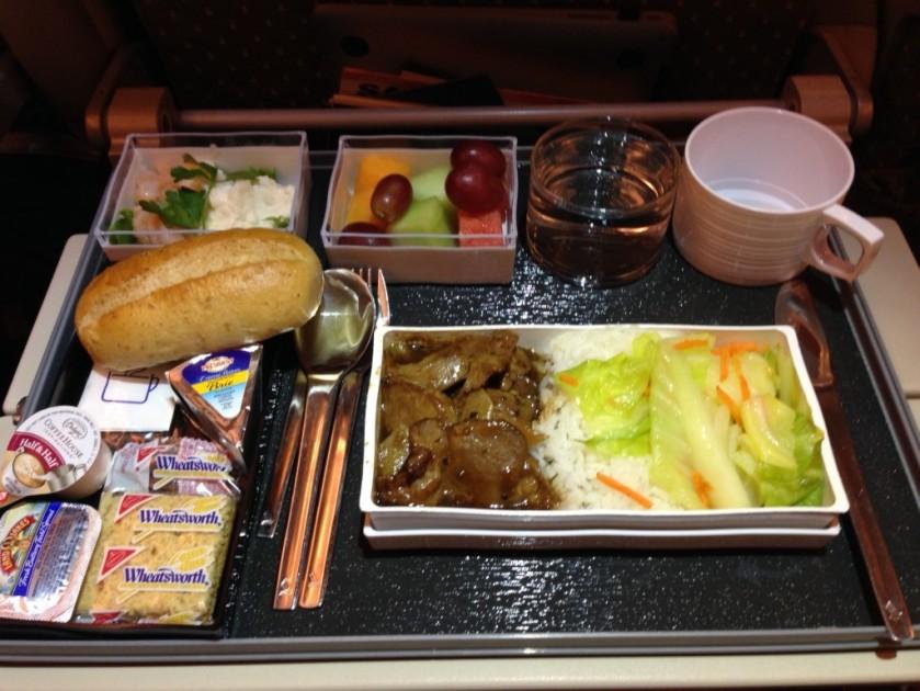 Singapore Air Food