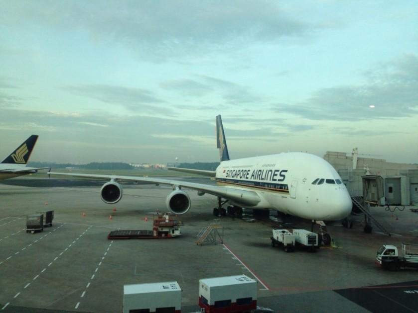 Singapore jet