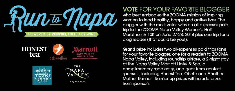Run To Napa Contest