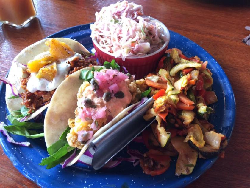 Rum house tacos