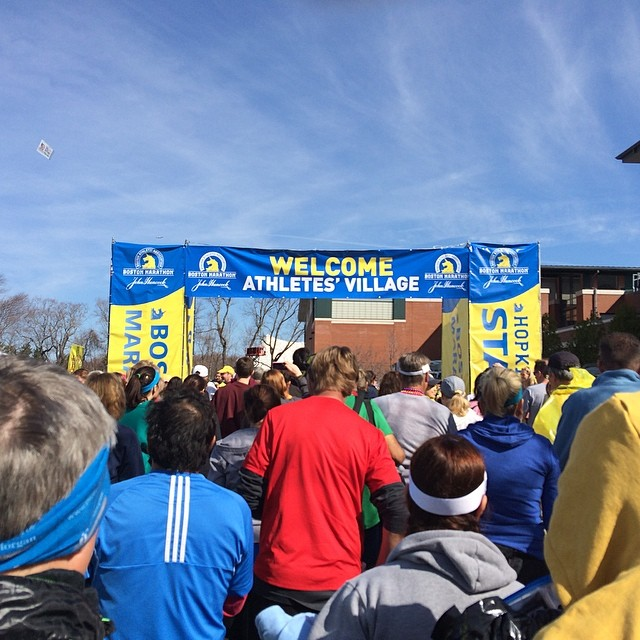 Boston Marathon Village
