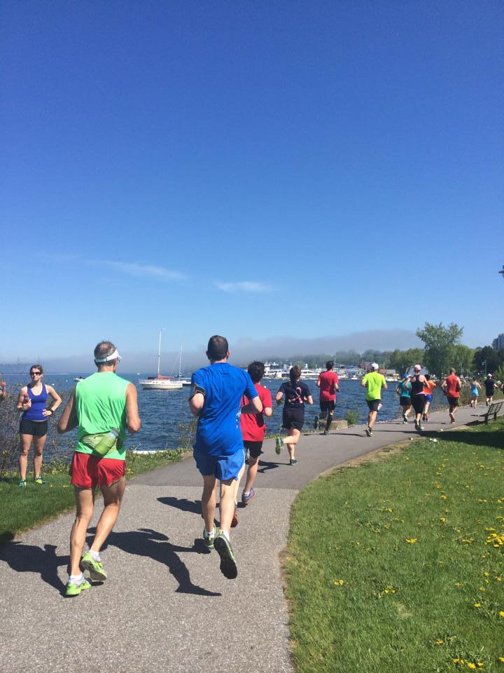 vermont marathon course
