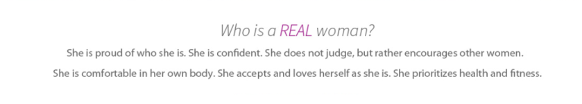 What is a real woman