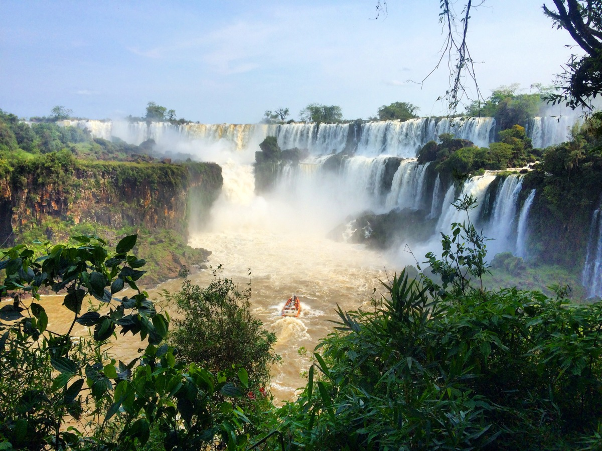 Visiting Iguazu falls – one of the seven wonders of the world