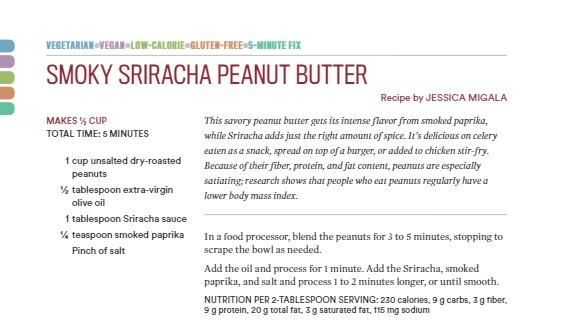 RunToMunch Sriracha PB